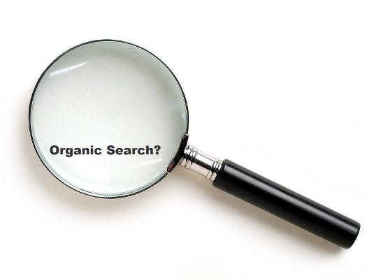 Organic search?