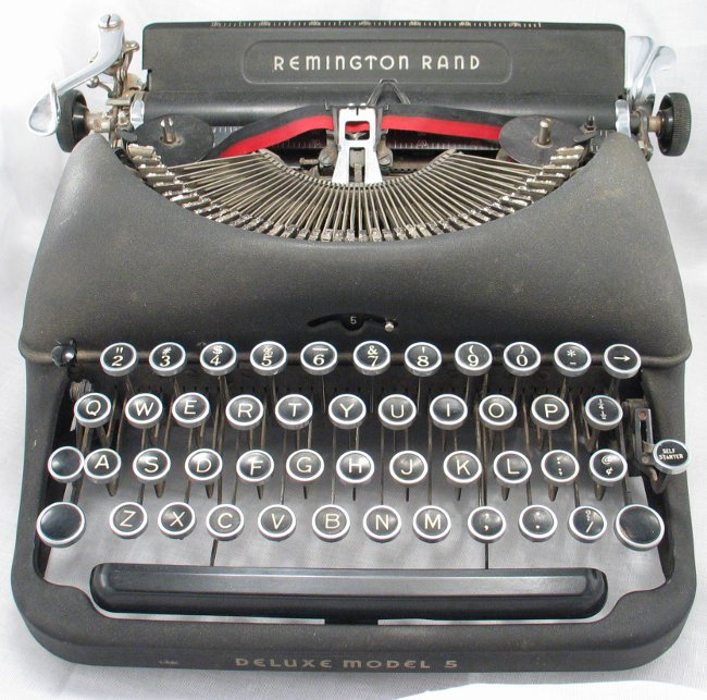 Type writer -- outsourcing writing