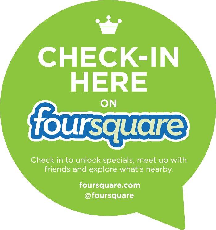 FourSquare check in discount