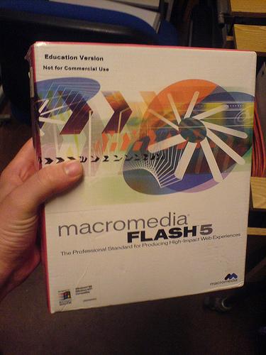 Macromedia (Now Adobe) Flash