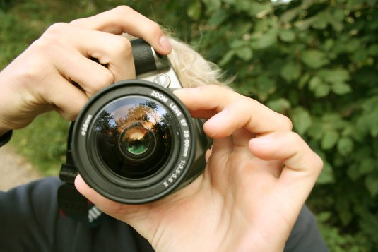 Taking a picture -- getting images for your website