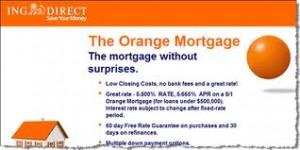 The Orange Mortgage example