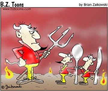 Hell's utensils