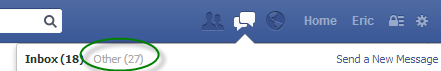 Facebook other inbox