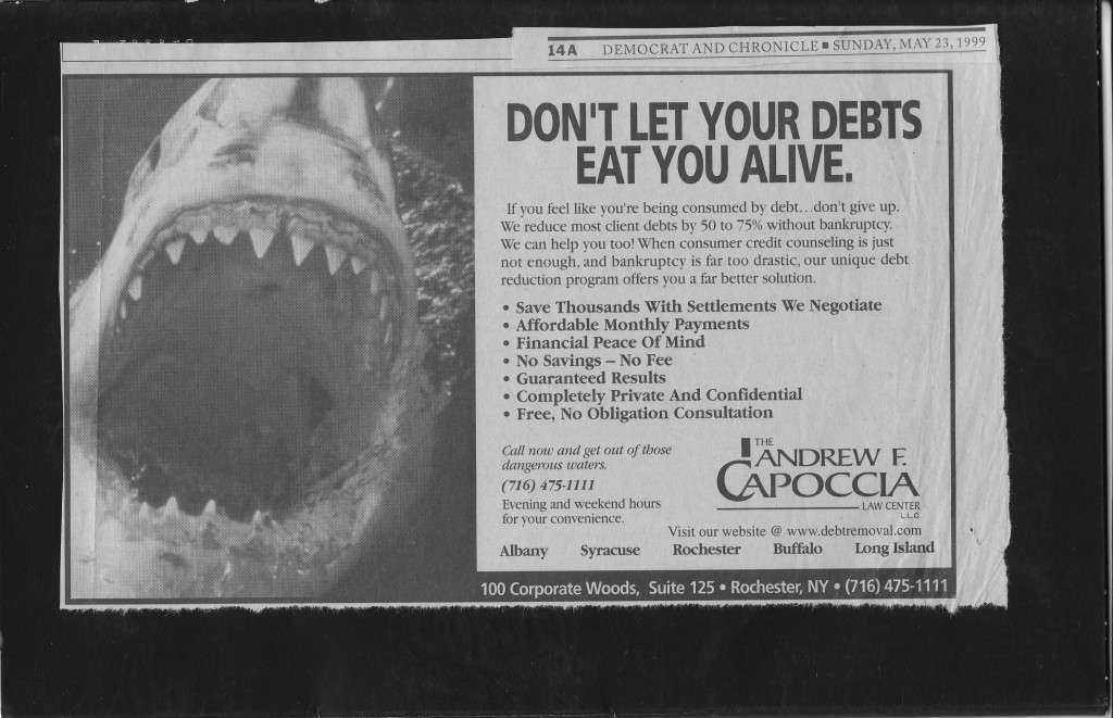 bankruptcy ad