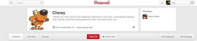 chewy pinterest